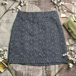 Geometric Pattern Miniskirt